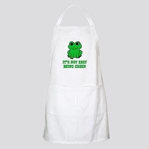 Not Easy Being Green Frog BBQ Apron